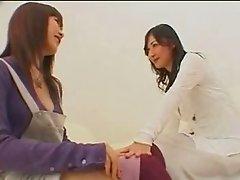 Teasing Japanese Babes