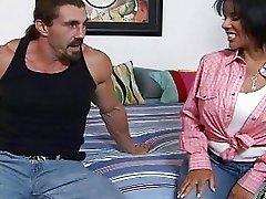 Sexy latina babe Elena Heiress get a dick