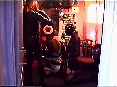 Alison Thighbootboy and Mistress Paula Thighboots and latex