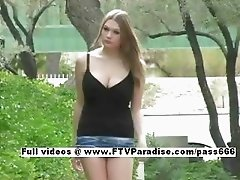 Tania fun stunning girl masturbating