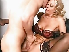 Julia Ann is loving the massive dick fucking her real good until she cums