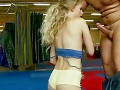 Pretty hot blonde gets her asshole rammed