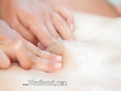 Massage of two incredible wow teenies