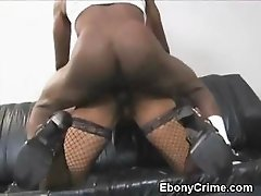 Black Girl Throat Fucked And Doggystyled