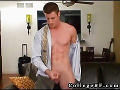 Muscled rc wanking his firm cock part5