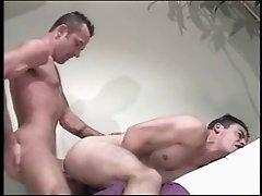 Chad Hunt and his purple shirt