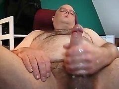 Hard Bear Blows His Load