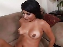 Filthy fuckslut Christina Moure rodeos this rod like its her final fuck