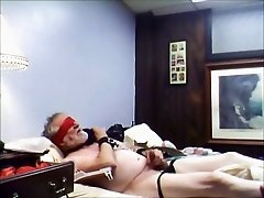 Mistress and slave have phone session