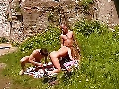 German threesome action