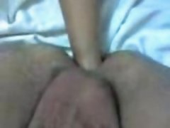 Wife fisting in husband