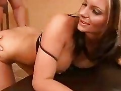 Milf Phoenix Marie gets banged from behind and takes a juicy creampie