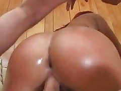 Katja Kassin manages to squeeze two cocks up her gaping asshole