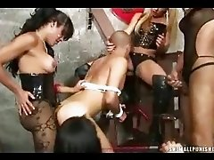 Shemale BDSM and Facesitting!