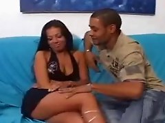 Latina Asfuck with her BF