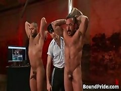 Alessio and Leo in horny extreme gay part4