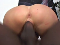 blonde milf takes a big black cock