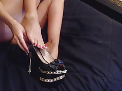 Southern Blonde Foot Fetish I