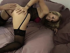 naughty-hotties.net - beautiful brunette pure anal pounding