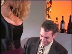 Horny employer fucking her boss