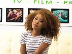 Free21 Curly ebony Kendall Woods fucked hard
