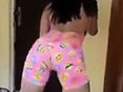 Young Hot Roll the Bootie dying to Stick Dick in Pussy