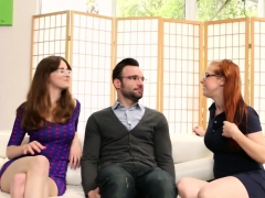 Jay and Penny fuck the new French exchange student Alex