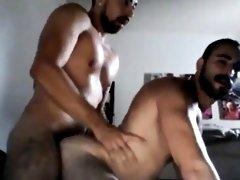 Bears Fucking, Kissing and Cumming