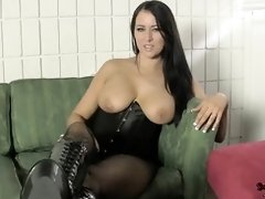 Give Your Ballsack To Alexis Mercy FEMALE DOM Jerk Off Instructions EMASCULATION CONVERSE
