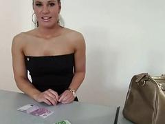 Czech girl Athina Love fucked for money
