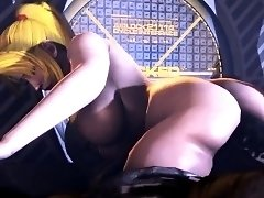 Enticing 3D girl with big tits gets nailed by a hung monster