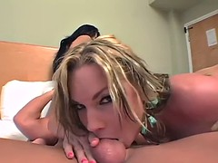 cock addicted ladies have a threesome with a big one