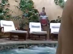 Slut In The Pool