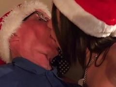 Santa Fucks Teen Helpers Spanks their ass fucks pu