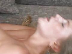 Oralsex gets followed by a fuck for a sexy babe