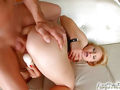Asstraffic Helena Valentine in hardcore anal ass to mouth