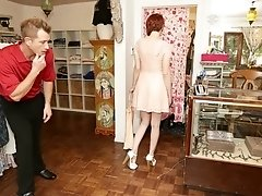 Bree Daniels Gets Framed For Theft And Tricked Into Fucking The Store Clerk