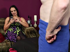 stockings domina fingers