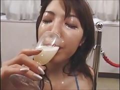 DRINKERS SEMEN Mari Maeda