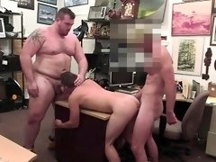 Hunks stud stroke two hard cocks