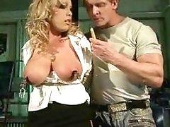 Hot bondage sluts receive candle waxing and fucking session BDSM