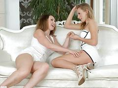 Lesbian sex on Sapphic Erotica with Yasmin Scott Ivana Sugar
