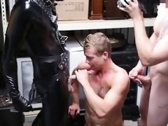 Straight young boy micro penis Dungeon tormentor with a gimp