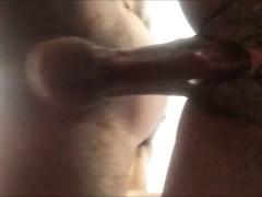 Ebony babe with wet pussy fucked closeup