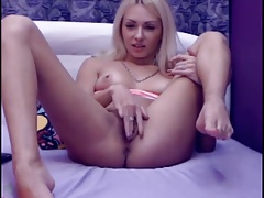 Dildo Play Blonde