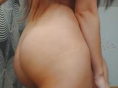 Hot Brunette Girlfriend Creampied on her Ass