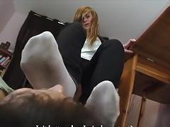 The socks bitch slave