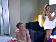 assh lee caught danny d huffing her panties