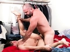 Bear slams twinks butt