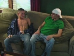 Amazing gay scene John and Marcel deep-throat each other's c